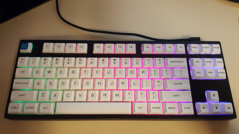 Customized Coolermaster Masterkeys Pro S